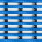 Yoga Rib Våtrum 100 cm blå/lp